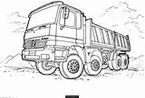 Coloring Truck Pages Semi Boys sketch template