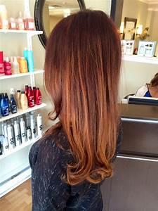 Ombré Hair Auburn : sombres ombres balayage and flamboyage grace to create ~ Dode.kayakingforconservation.com Idées de Décoration