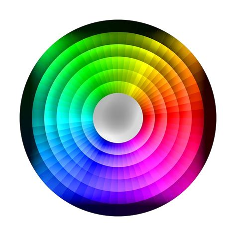 Color Wheel Images Free Illustration Colour Wheel Chromatic Rainbow Free
