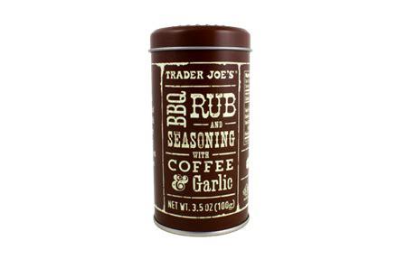 It's easy, inexpensive, can be prepared. Trader Joe's - BBQ Rub & Seasoning with Coffee & Garlic | Bbq seasoning, Bbq rub, Trader joes