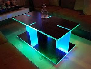 Table Basse Galet Led : table basse led maison et mobilier ~ Melissatoandfro.com Idées de Décoration