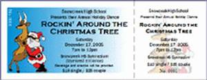 TicketPrinting Ticket Ideas for Winter