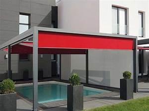 raumausstattungde nova huppe sonnenschutzsysteme With markise balkon mit tapeten in metalloptik