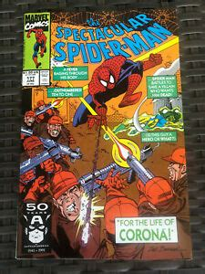 Mr winter says that dr almeida had actually seen. Spectacular Spider-Man # 177 • KEY 2nd Appearance of Corona! June 1991   eBay