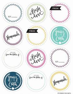 if you are feeling really adventurous add a drizzle of With canning jar lid labels