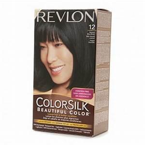Revlon Colorsilk Hair Color Dye Natural Blue Black 12