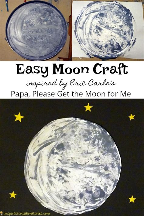 moon craft inspired by papa get the moon for me 133 | moon craft eric carle