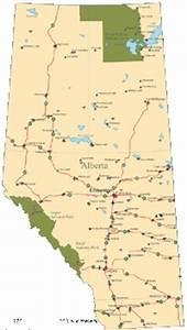 Alberta Digital Vector Maps - Download Editable ...