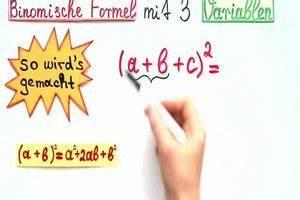 Scheitelpunktform A Berechnen : video binomische formel mit 3 variablen so berechnen sie sie ~ Themetempest.com Abrechnung