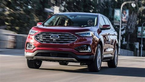 2019 Ford Edge Gets A Refresh  The Torque Report