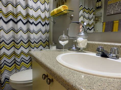 gray yellow and white bathroom accessories grey and yellow bathroom modern bathroom toronto