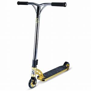 MGP VX7 Team Complete Scooter - Gold/Chrome | Browse All ...
