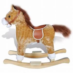 Cheval A Bascule : la boutique en ligne animal de cheval bascule avec musique ~ Teatrodelosmanantiales.com Idées de Décoration