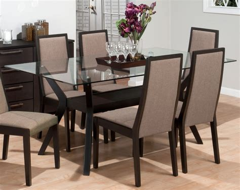 ortanique glass dining room set dining room ideas cool glass dining room sets for sale