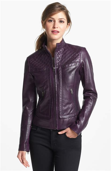 leather apparel women s leather jacket trends spring 2016