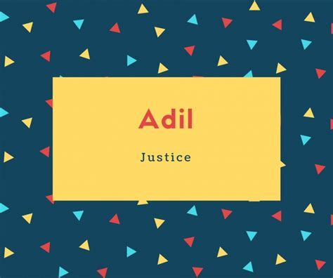 What is Adil Name Meaning In Urdu   Adil Meaning is ?????