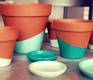 Ouvrir Un Pot De Peinture : pots et cache pots pour un jardin int rieur bricolage deco pinterest ~ Medecine-chirurgie-esthetiques.com Avis de Voitures