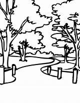 Park Coloring Jurassic Template Printable Kleurplaten Kleurplaat Neighborhood Library Clipart Clip sketch template