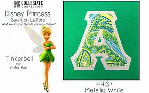 tinkerbell themed greek letter fabric themed fabrics With tinkerbell letters