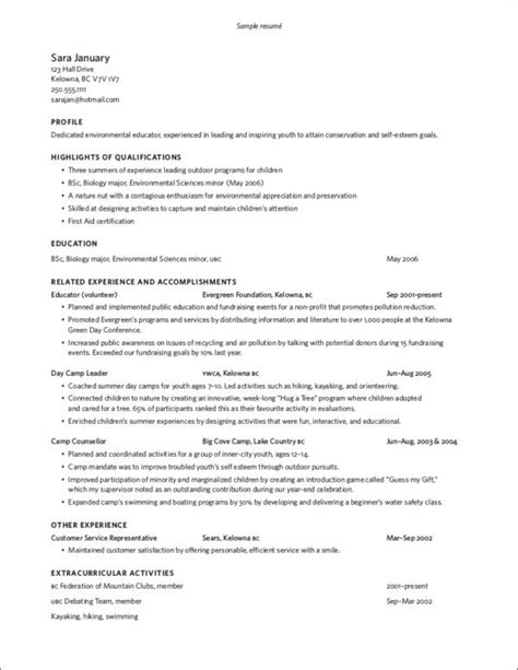 quick fixes  long resume samples templates
