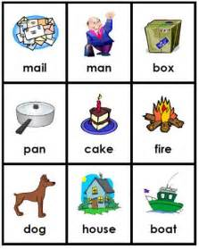 Compound Words Kindergarten Cards