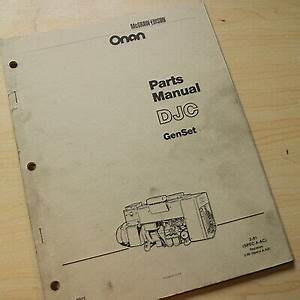 31 Onan Generator Parts Diagram