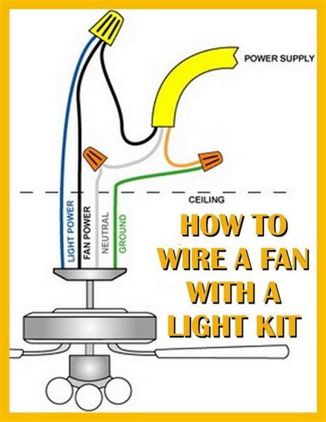how to repair ceiling fan how to wire a ceiling fan with a light kit diy tips