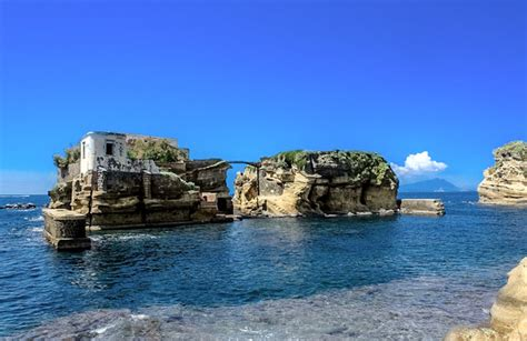 The Gaiola Underwater Park Naples Below Sea Level
