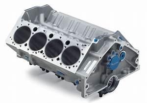 400 Aluminum Bare Block  Gm Performance Motor