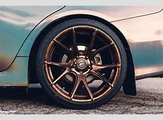 Subaru WRX Forgestar CF5V Wheels Bronze Burst
