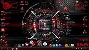 HUD Red War Machine Darkstar Desktop Scrshot By
