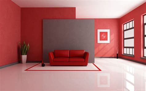 Red Color Interior Design Beautiful Home Wallpapers New HD ...