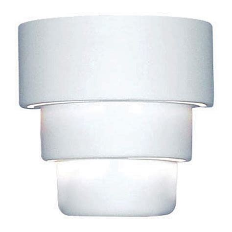 up down 10 quot high ceramic outdoor wall light 28355 ls plus