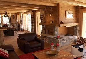Decoration Interieur Chalet Bois : r alisations exemples de travaux vieux bois ~ Zukunftsfamilie.com Idées de Décoration