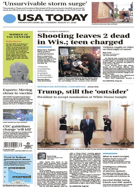 USA TODAY - 08.27.2020 » Download PDF magazines ...