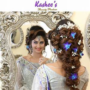 KASHEES Beautiful Bridal Hairstyle & Makeup Beauty parlour