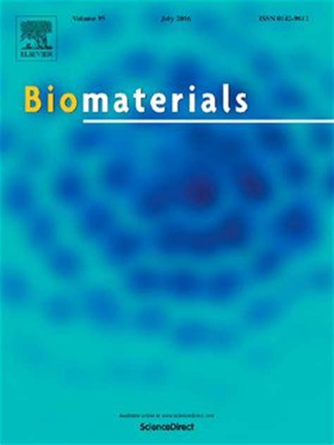 biomaterials journal updates invitation  learn