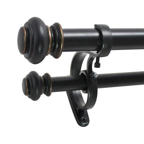 drapery rod hardware beme international urn curtain rod and hardware set