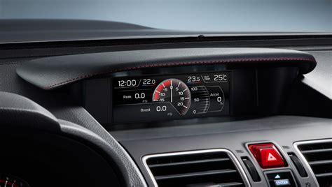 Interior  2018 Wrx & Wrx Sti  Subaru Canada