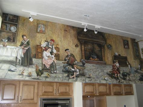 Kitchen Wall Mural. Best Basement Floor Sealer. Your Mom's Basement. Install Basement Subfloor. Basement Interior