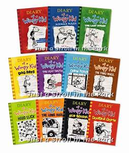 Diary Of A Wimpy Kid Complete Series Hardcover Books 1 11