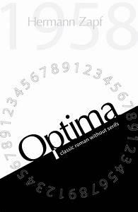 Optima Minimal Font Poster by Amanda Ryan | GD Typography ...
