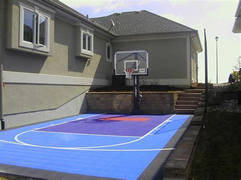 small backyard   problem  sport court sport court