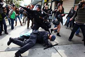 May Day protests turn violent in downtown Seattle ...
