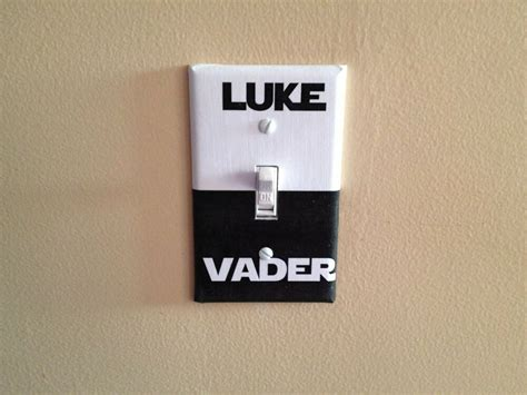 home decor outlet wars luke vader side sci fi light switch covers