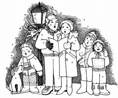 Carolers Christmas Clipart Caroling Cliparts Clip Google