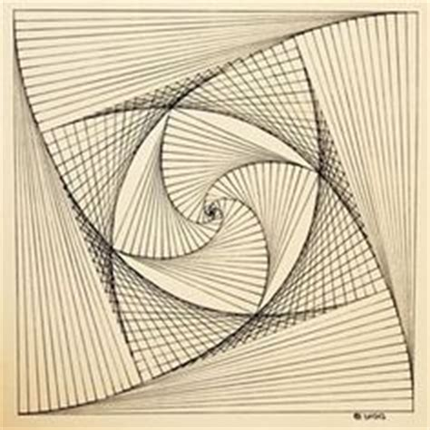 draw geometric swirl patterns  templates