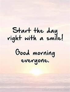 Good Morning Everyone - DesiComments.com