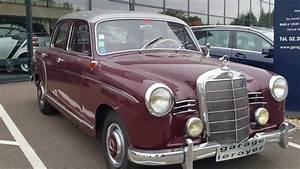 Leroyer Mercedes : mercedes 180 a ponton w120 youtube ~ Gottalentnigeria.com Avis de Voitures