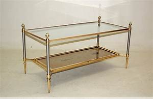 Table Basse Maison Jansen Bronze Dor XXe Sicle N41121